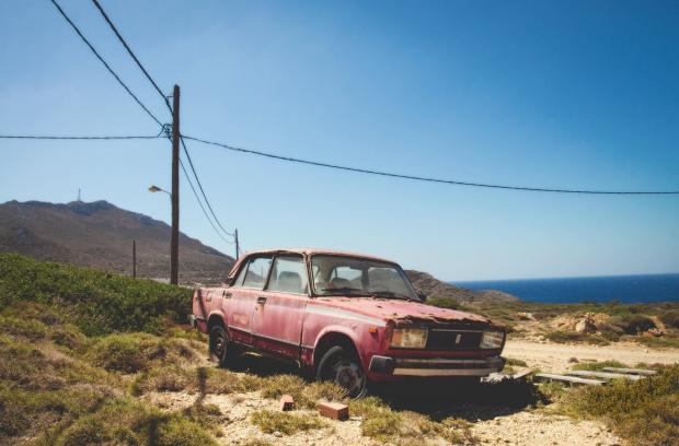 Antikythera Grieks eiland zoekt bewoners auto go with the vlo