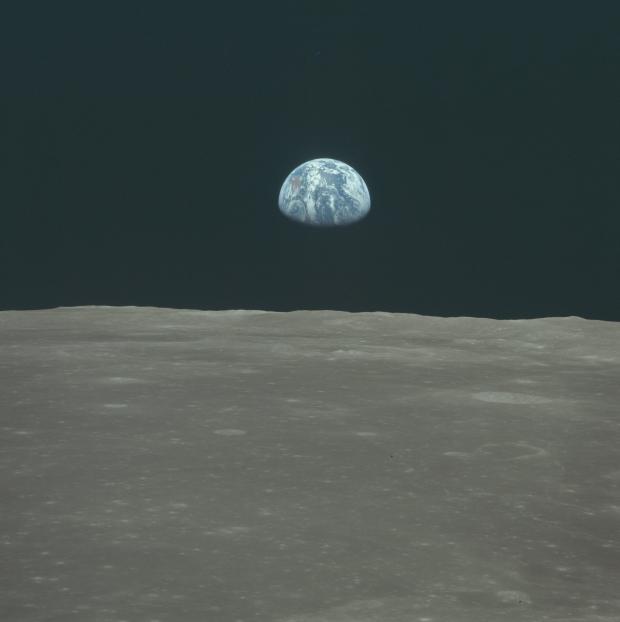 Apollo 11 astronaut maanlanding 1969 aarde go with the vlo