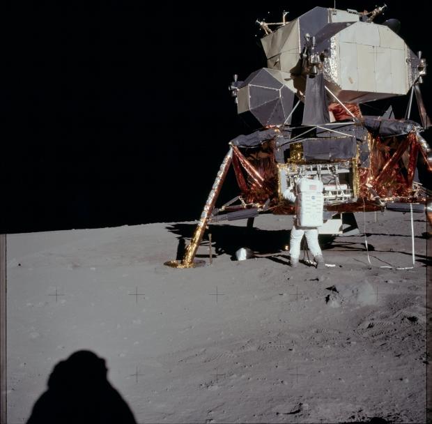 Apollo 11 astronaut maanlanding 1969 go with the vlo 4