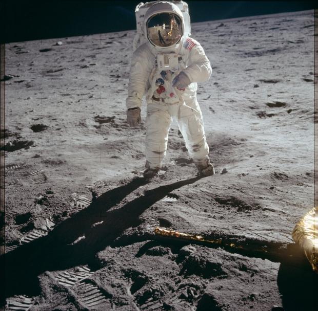 Apollo 11 astronaut maanlanding 1969 go with the vlo