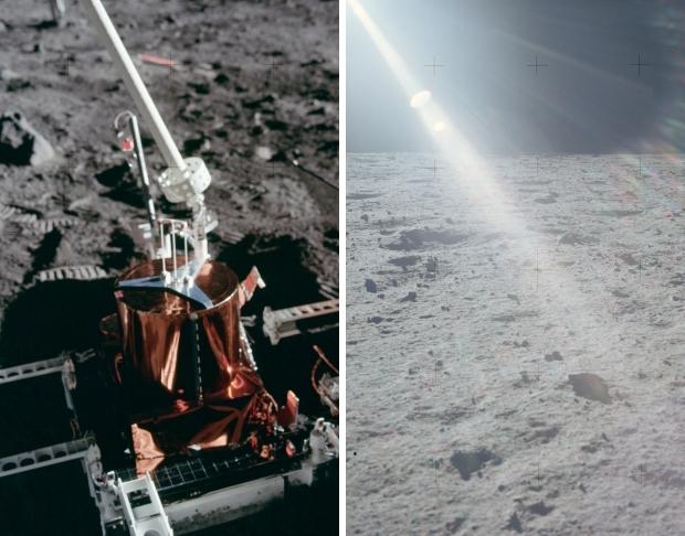 Apollo 11 astronauten eerste maanlanding 1969 onderzoek NASA go with the vlo