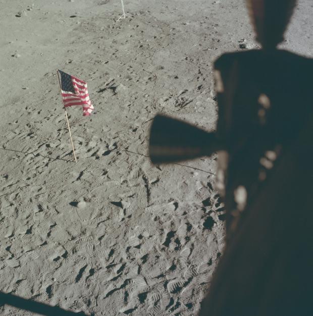 Apollo 11 astronauten maanlanding 1969 Amerika go with the vlo 3