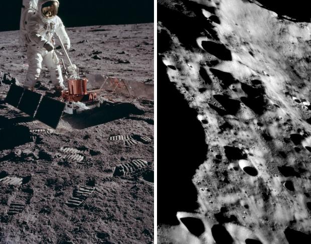Apollo 11 astronauten maanlanding 1969 bodemonderzoek go with the vlo