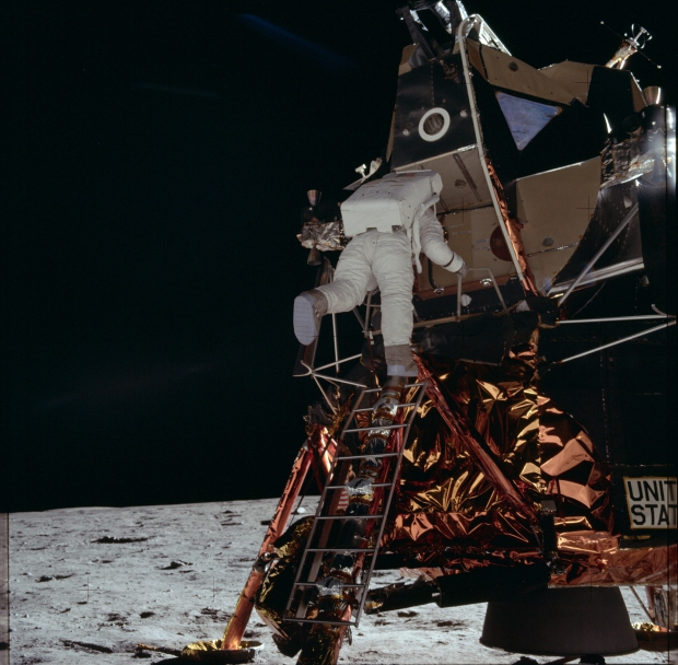 Apollo 11 astronauten maanlanding 1969 go with the vlo