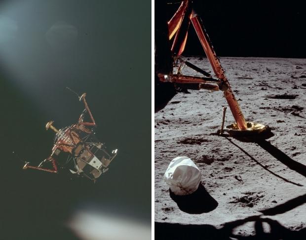 Apollo 11 astronauten maanmissie 1969 landing go with the vlo