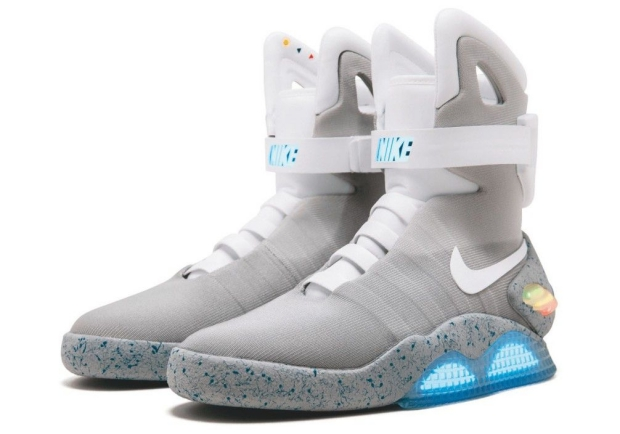 Back to the Future Nike Sothey's veiling sneakers go with the vlo
