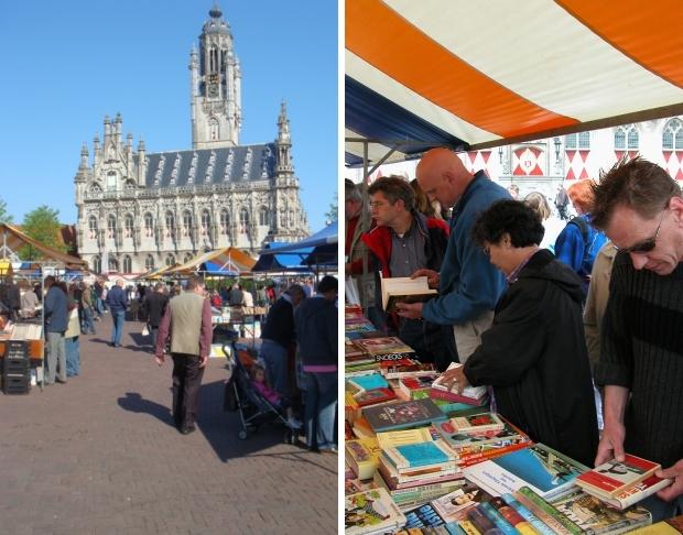 Boekenmarkt Middelburg zomer 2019 go with the vlo 2