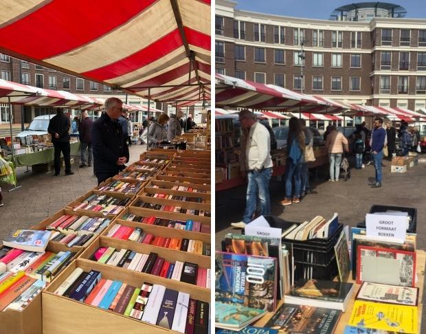 Boekenmarkt Schiedam zomer 2019 go with the vlo 2