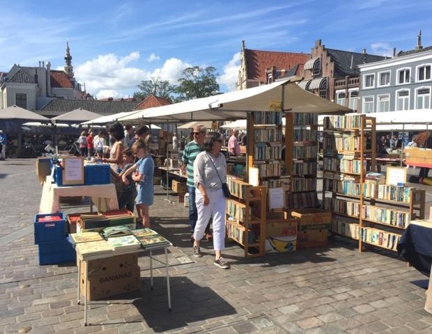 Boekenmarkt Zierikzee zomer 2019 go with the vlo 2