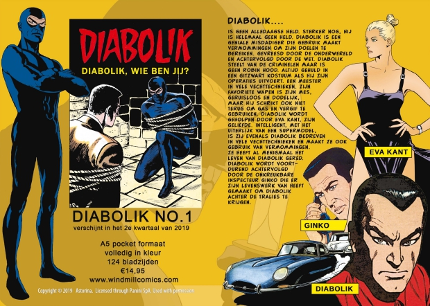 Diabolik Wie Ben Jij Windmill Comics 2019 go with the vlo