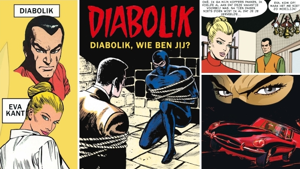 Diabolik wie ben jij Windmill Comics Publishing 2019 go with the vlo