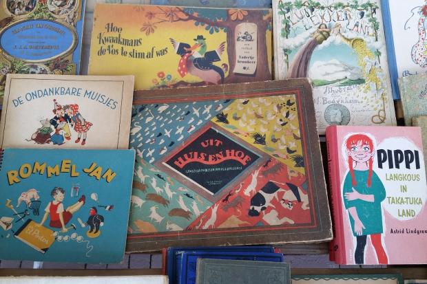 Dordtse Boekenmarkt zomer 2018 oude kinderboeken go with the vlo