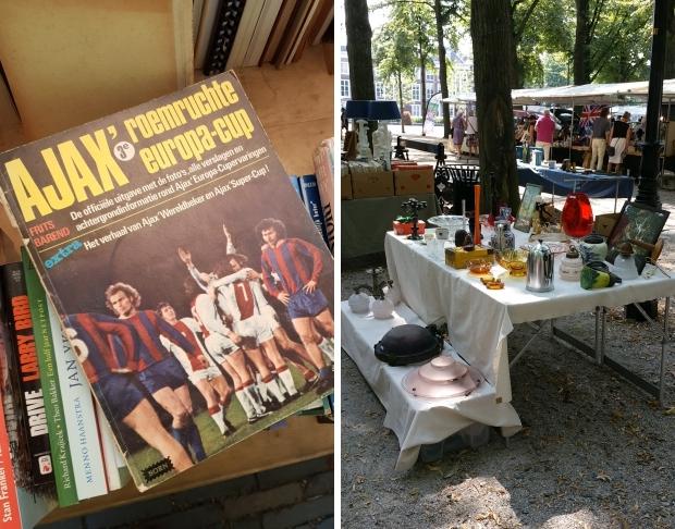 Haagse antiek en boekenmarkt voetbal go with the vlo