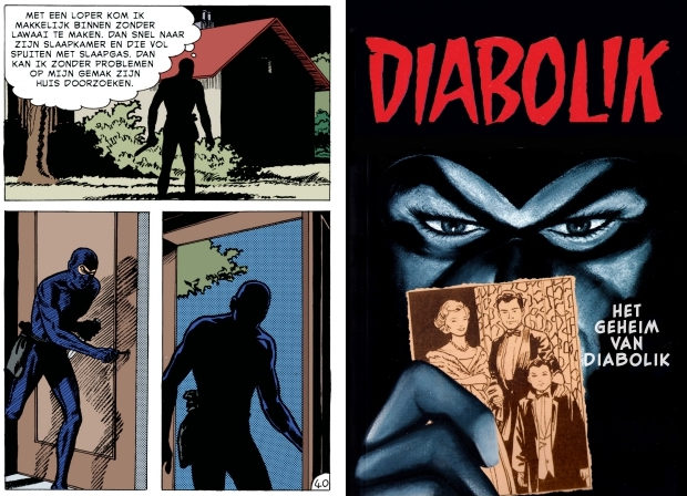 Het geheim van Diabolik Windmill Comics 2019 go with the vlo