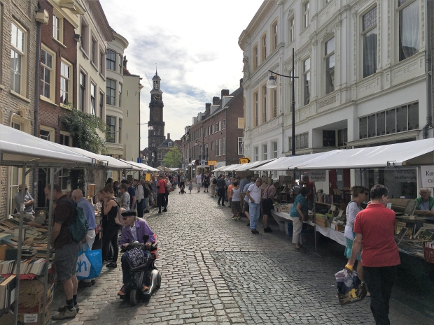 Zutphense boekenmarkt 2019 Hanzestad go with the vlo