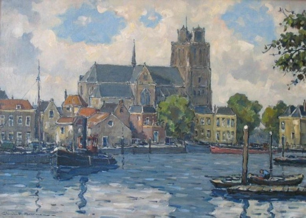 Clement Bezemer Dordrecht waterkant boten go with the vlo