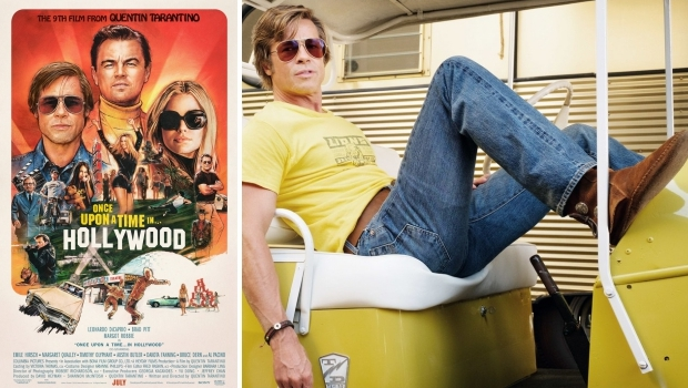 Once Upon a Time in Hollywood Brad Pitt Minnetonka laarsjes go with the vlo
