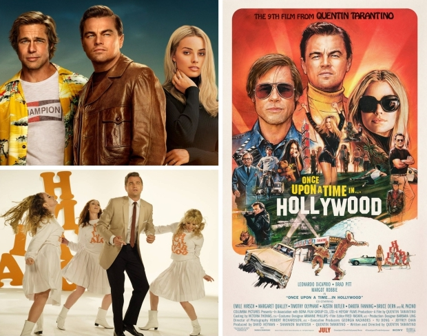 Once Upon a Time in Hollywood Tarantino mode go with the vlo