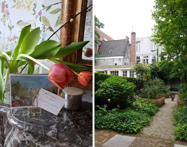 Amsterdam De Stijlkamer ansichtkaart tuin go with the vlo