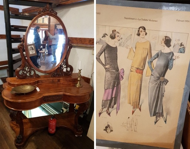 Antiquariaat Leo Meijer Schiedam opheffingsuitverkoop kaptafel go with the vlo