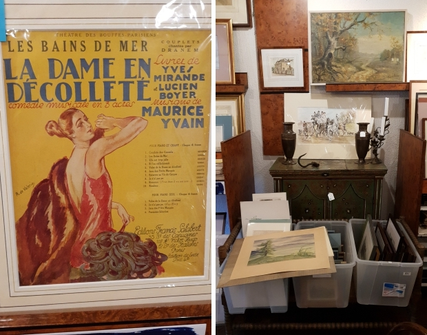 Antiquariaat Leo Meijer Schiedam opheffingsuitverkoop Les bains de mer go with the vlo