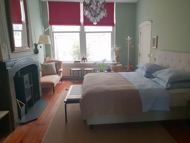 De Stijlkamer bed and breakfast slaapkamer go with the vlo