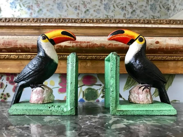 De Stijlkamer schouw vogels Amsterdam go with the vlo