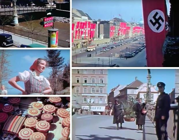 Kleurenfilm nazi-Duitsland Europa 1939 go with the vlo