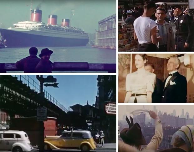 New York kleurenfilm jaren dertig go with the vlo