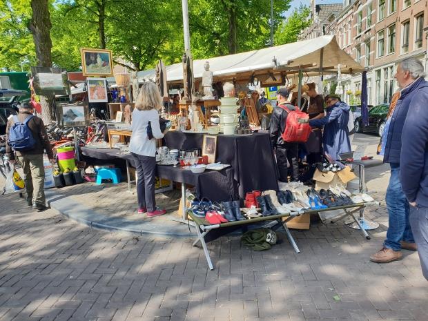 Noordermarkt Amsterdam maandag vintage antiek go with the vlo