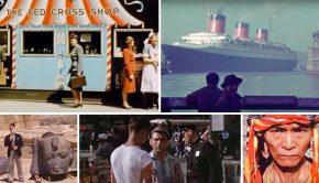 Oude kleurenfilms jaren dertig go with the vlo