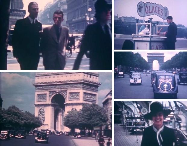 Parijs jaren dertig kleurenfilm go with the vlo