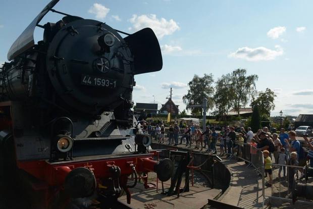 Terug naar Toen stoomtreinen locomotief go with the vlo