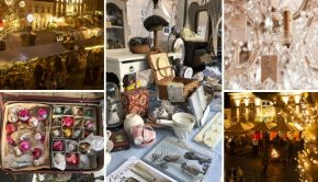Christmas by Candlelight Heusden brocantemarkt antiekmarkt kerst go with the vlo