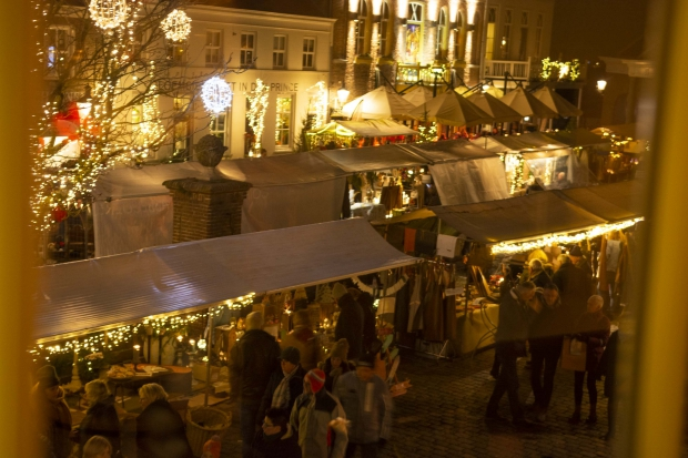 Christmas by Candlelight shopping Heusden go with the vlo