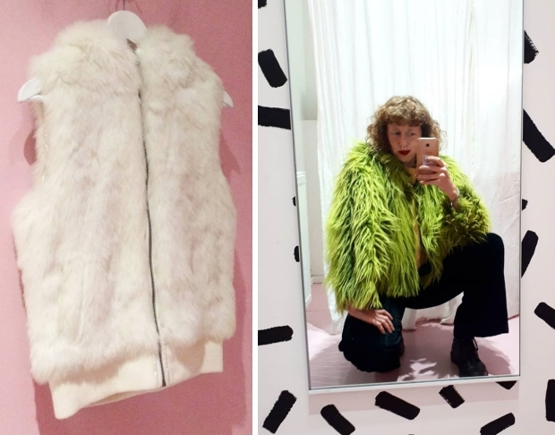 Heet Strijken Den Haag vintage winterjassen fake fur go with the vlo