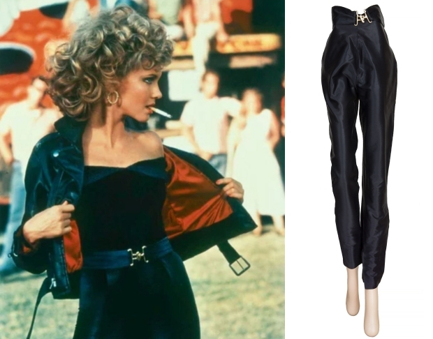 Olivia Newton-John Grease broek peuk veiling go with the vlo