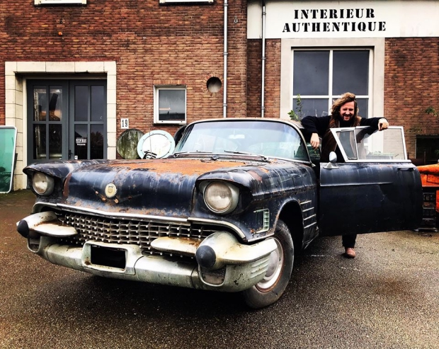 Vivre's Pickers Paradise Nijmegen Cadillac Fleetwood sale go with the vlo