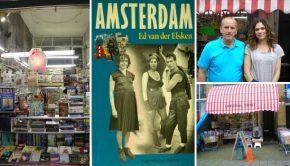 Leeshal Oost Amsterdam Dapperbuurt tweedehands boeken go with the vlo