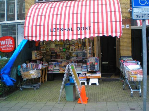 Leeshal Oost Dappermarkt Amsterdam sluiting go with the vlo