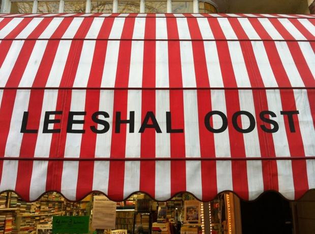 Leeshal Oost luifel Amsterdam sluiting tweedehands boeken go with the vlo