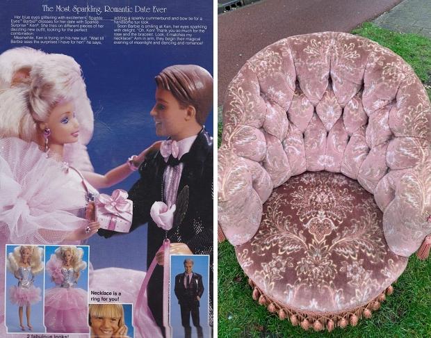 Barbie stoel Kringloop Gewoon Goed Schiedam go with the vlo