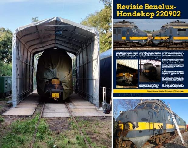 Stichting Hondekop Benelux trein vrijwilligers go with the vlo