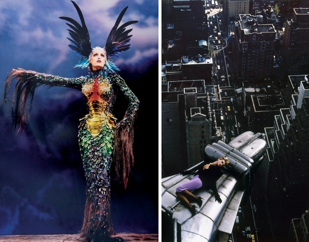 Thierry Mugler Couturissime Kunsthal Rotterdam go with the vlo