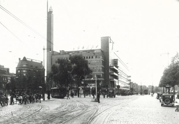 Bijenkorf Rotterdam Dudok 1931 Nu ik je nooit meer zie go with the vlo