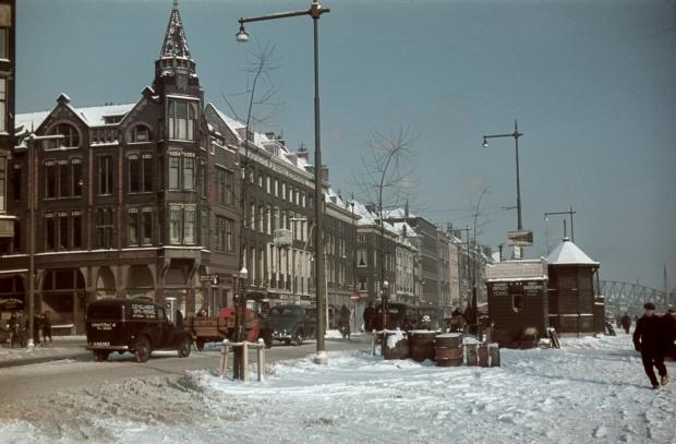 Boompjes Rederijstraat Rotterdam jaren dertig winter Richard Boske go with the vlo