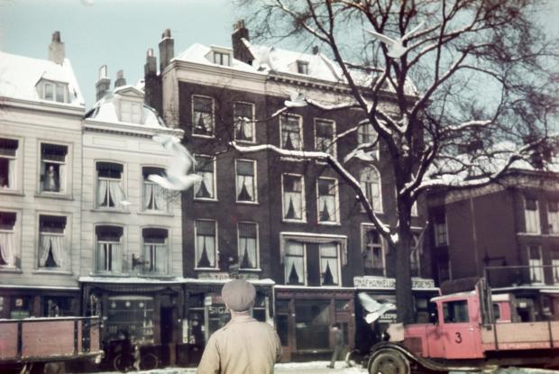 Boompjes Rotterdam jaren dertig nostalgie Richard Boske go with the vlo