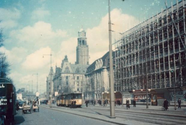 Coolsingel Rotterdam eind jaren dertig weemoed go with the vlo