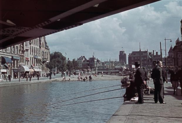 Dempen Schie Schiebrug Hofplein 1939 Rotterdam Jaap Tieman go with the vlo