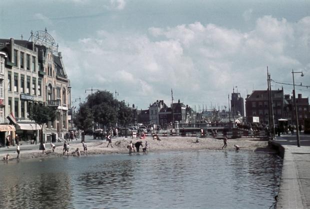 Dempen Schie Schiebrug Hofplein Rotterdam 1939 Jaap Tieman go with the vlo